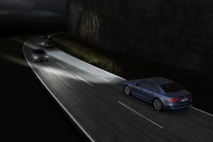 Audi представила новую матрицу оптики флагмана A8