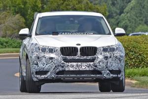 Сделаны шпионские фото нового кроссовера BMW X4 (+фото)