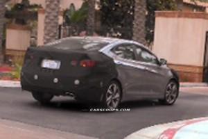 Шпионские фото обновленной Hyundai Elantra появились в Сети