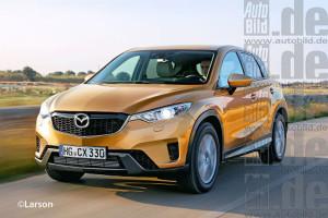 Компакт-кроссовер Mazda CX-3 запланирован на 2015 год