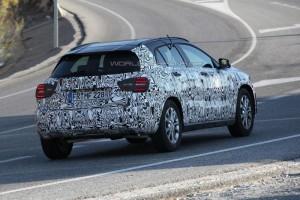 Mercedes-Benz GLA все ближе к дебюту