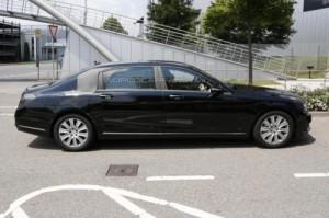 «Шпионы» сфотографировали новый Mercedes-Benz S-Class Pullman на тестах