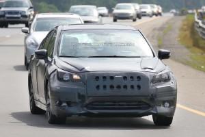 Новое поколение Subaru Legacy дебютирует в 2014 году