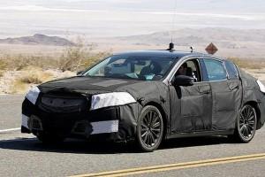 Новый седан Acura TLX появится в следующем году