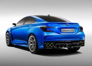 В конце осени ожидается появление нового седана Subaru WRX