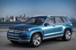 Концепт Volkswagen CrossBlue станет серийной моделью
