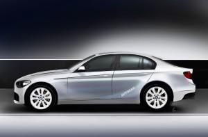 Переднеприводный седан BMW 1-Series ожидается в 2017 году
