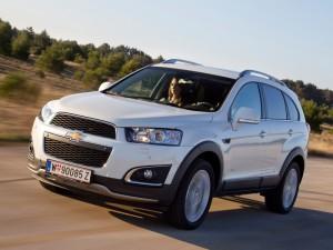 Обновленный Chevrolet Captiva появится на рынке уже в следующем месяце