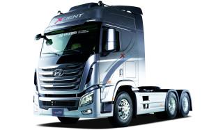 Новый флагманский седельный тягач Hyundai Xcient выходит на российский рынок
