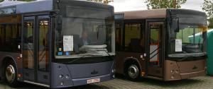В Минске начинают использовать автобусы МАЗ на газовых двигателях