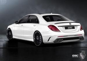 Тюнинг нового Mercedes-Benz S-Class от German Special Customs