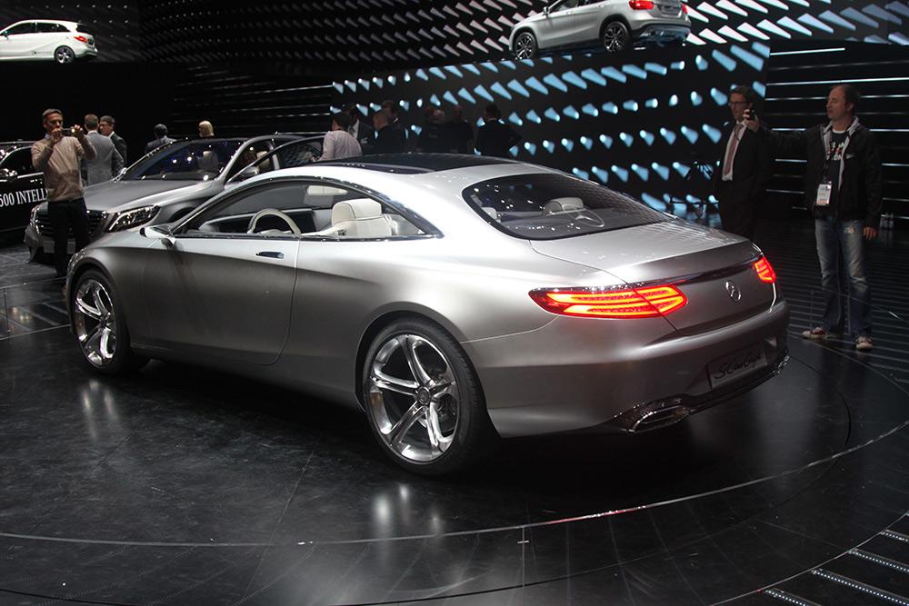 Мерседес s купе 2014 фото