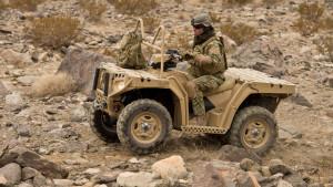 Немецкая армия сядет на квадроциклы Polaris
