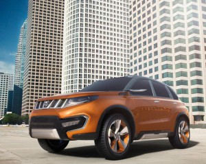 Suzuki представила концепт iV-4 – будущий конкурент Nissan Juke