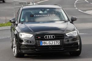 Audi начала тестировать свой «горячий» хэтчбек RS3 нового поколения