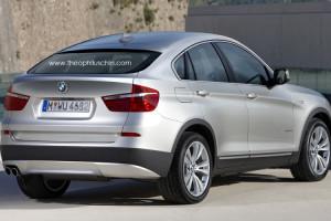 Дебют серийного BMW X4 состоится в Женеве