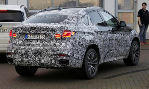 Новый BMW X6 уже тестируется