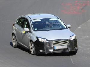 Начались испытания обновленного Ford Focus