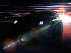 В Сети появился тизер Porsche Macan с полностью светодиодной оптикой