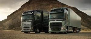 В России с конвейера сошел первый «газовый» Volvo FH