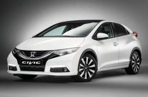 «Посвежевший» хэтчбек Honda Civic в январе 2014 года прибудет в Европу