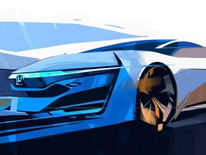 Honda представит предвестника серийной водородной модели
