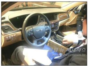 В сети появились шпионские фото нового поколения Hyundai Genesis