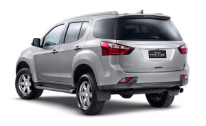 Isuzu выпустила свою перелицованную модель Chevrolet Trailblazer – MU-X