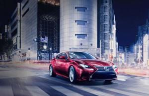 Lexus представил новинку RC Coupe