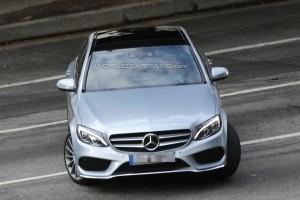 Фотошпионы словили новый Mercedes-Benz C-Class 2014 без камуфляжа