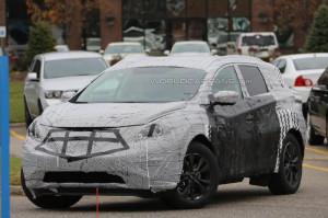 Новый Nissan Murano уже проходит испытания