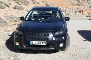 Новое поколение Subaru Legacy уже проходит дорожные испытания