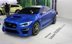 Премьера новой Subaru WRX STi состоится в Детройте
