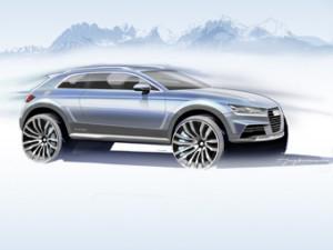 Audi покажет новый концепт-кроссовер в Детройте
