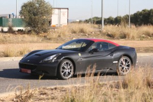 Фотошпионам удалось «словить» замену Ferrari California