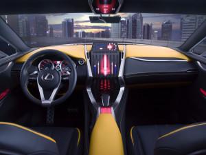 Конкурент Range Rover Evoque – Lexus LF-NX покажут в Женеве