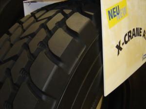На рынок выходит новая модель шин Michelin X-CRANE +