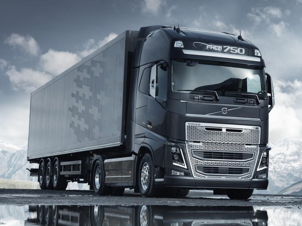 Новый вольво грузовой фото