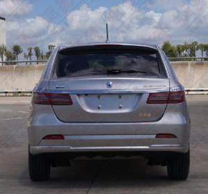 В интернете появились фото совместного Daimler и BYD электромобиля Denza