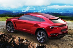 Lamborghini Urus появится на рынке не ранее 2017 года