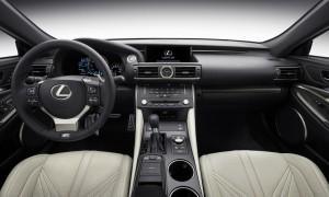 «Горячее» купе Lexus RC F официально представлено
