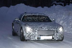 Фотошпионам удалось «словить» Mercedes-Benz AMG GT