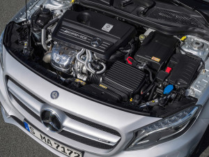 Mercedes-Benz раскрыл информацию по GLA 45 AMG