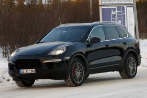 Фотошпионы «словили» рестайлинговый Porsche Cayenne