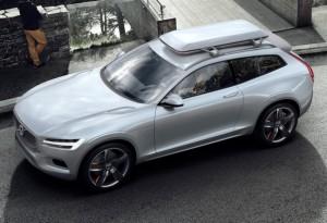 Прототип следующего поколения Volvo XC90 показан на фото