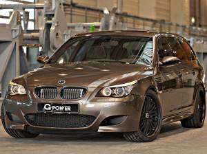 G-Power тюнинговала универсал BMW M5 в настоящий «ураган»