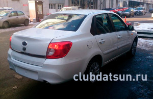 Российскую версию седана Datsun сфотографировали без камуфляжа