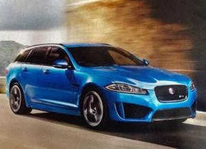 В интернете появилось первое изображение Jaguar XFR-S Sportbrake