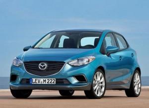 Новое поколение Mazda2 станет основой для кроссовера