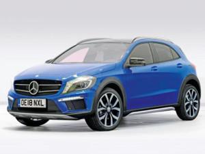 Mercedes может выпустить субкомпактный кроссовер X-Class